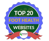 top 20 foot health websites