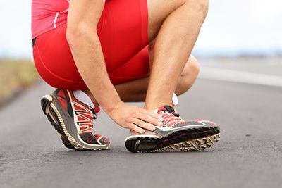 causes and treatment for sprained ankles