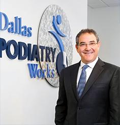 dr joel brook podiatrist in dallas tx