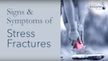 symptoms of stress fractures