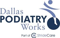 dallas podiatry works logo